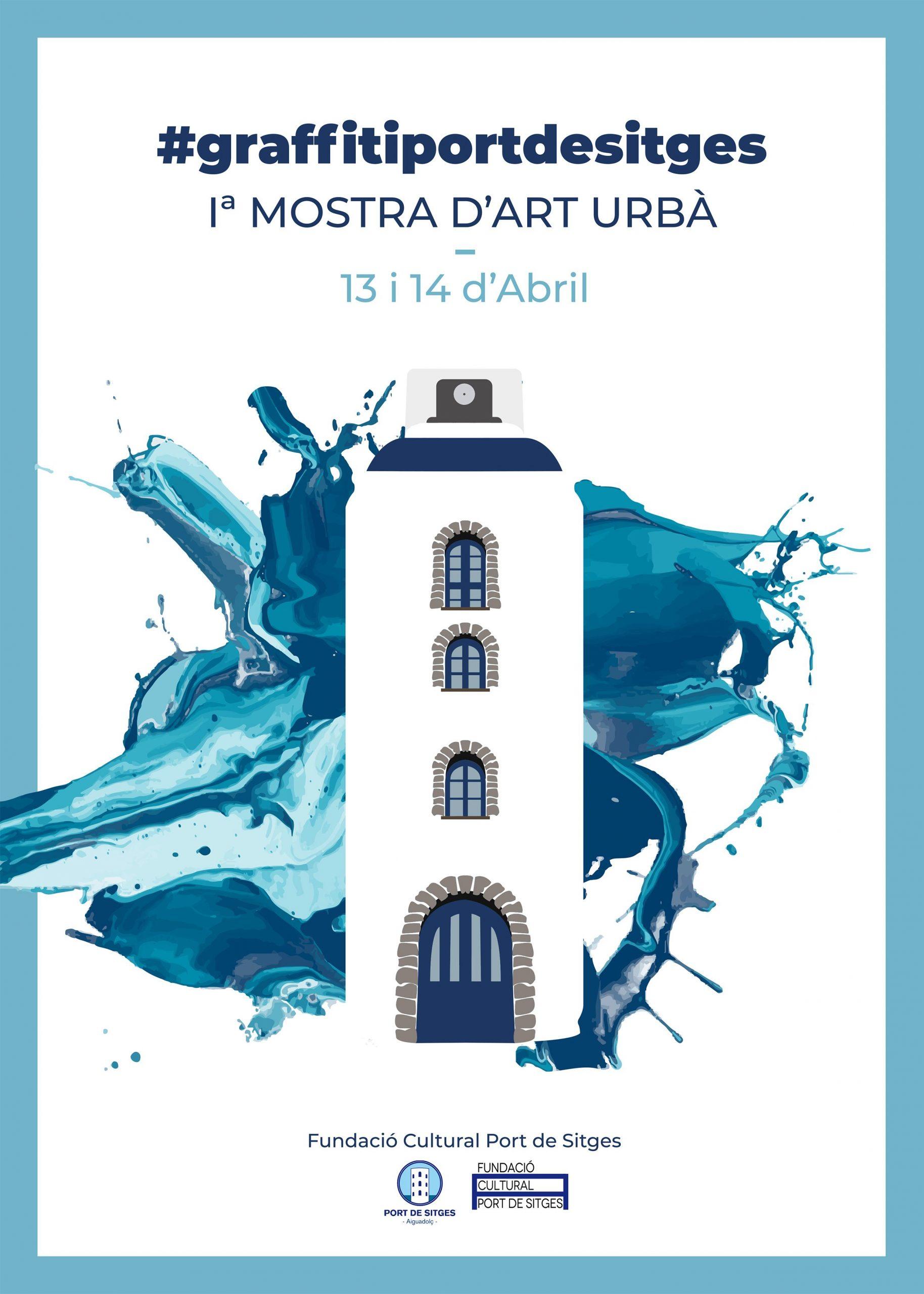 El Port de Sitges-Aiguadolç, primer puerto que abre sus puertas al Arte Urbano.