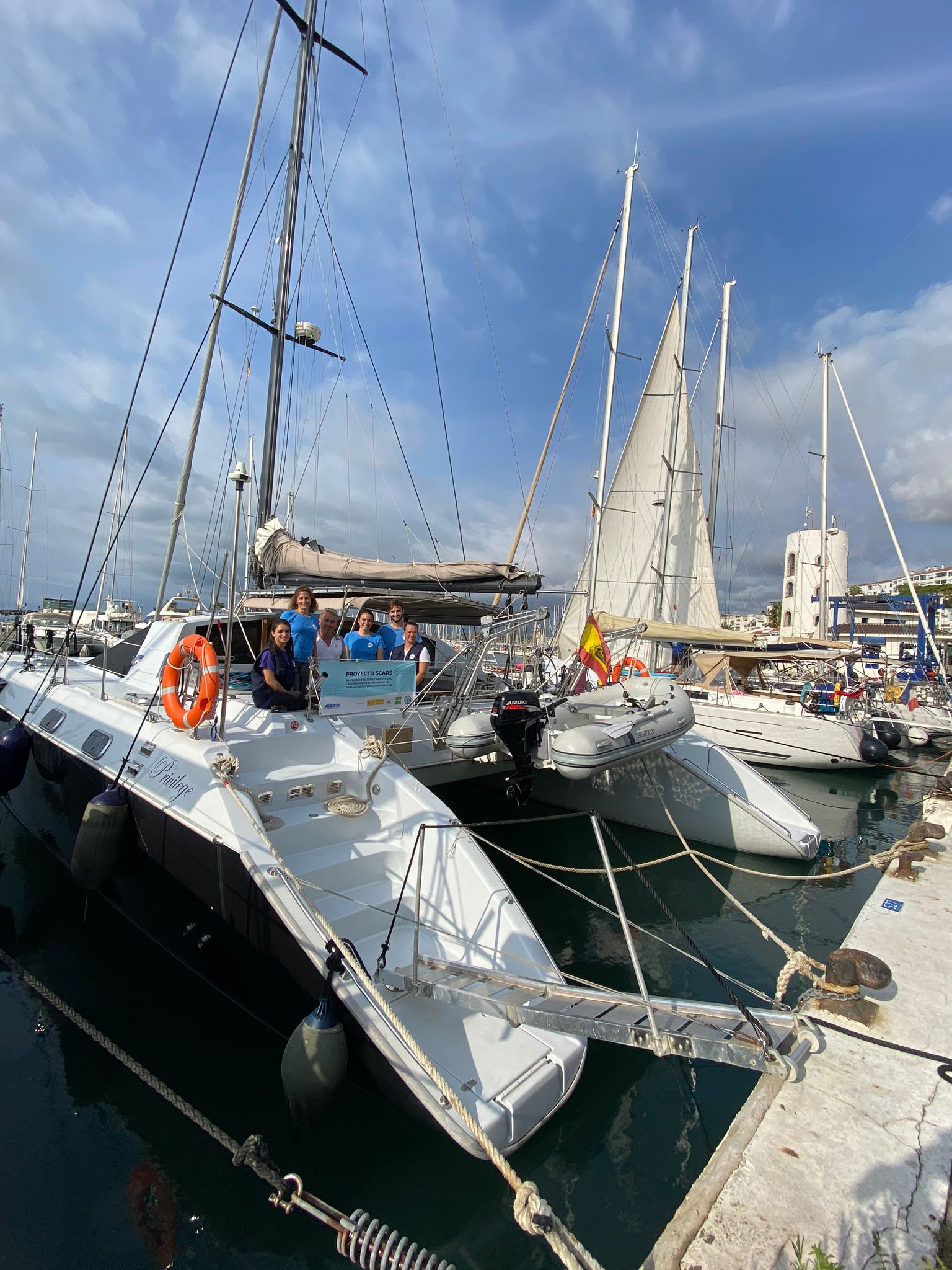 El Port de Sitges col·labora amb el projecte Scars