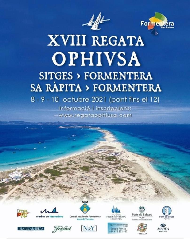 19 veleros salen del Port de Sitges en una regata a Formentera
